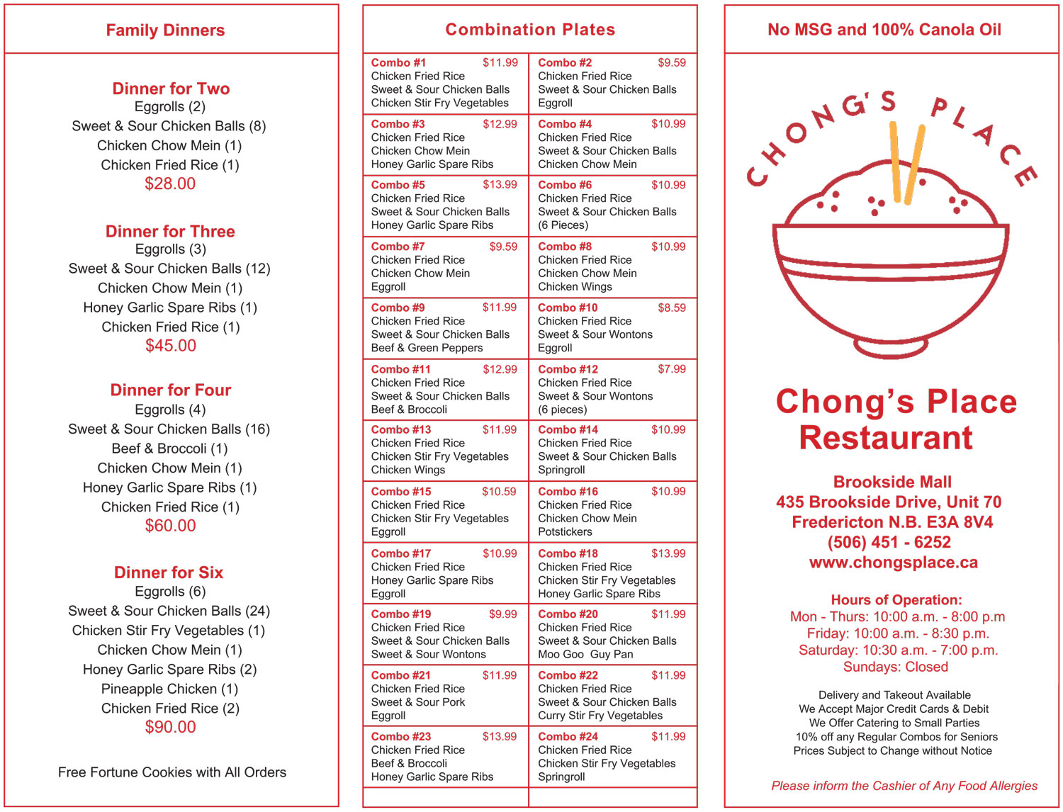 Chong - New Menu - June 2020 - p. 1